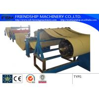 4KW 380v 50Hz  Slitting Line Machine Metal Rollforming Systems , 0.4-0.8mm Thickness Manufactures