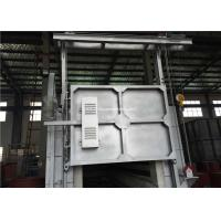 Car Bottom Furnace , Bogie Type Furnace FOR Austempering of Manganese Steel Manufactures
