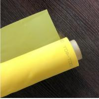 China 32T-80T Mesh Count Monofilament Polyester Screen Fabric With Good Dimensional Stability on sale