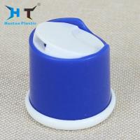 China 28 / 415 Shiny Bule Shampoo Bottle Cap , Disk Top Cap Color Spray Painting on sale