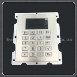 China Oil Dispenser 20 Key Keypad , Industrial Stainless Steel Usb Numeric Keyboard on sale