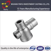 CF8M / SUS 304 / AISI 304 Stainless Steel Tube Fittings , Stainless Steel Pipe Elbows Manufactures