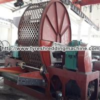 Car Tire Rubber Granulator Recycling Plant 30 - 80 mesh For Industries for sale