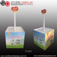 Quality Customize Eyecatching Pallet display stand rack in the supermarket for sale