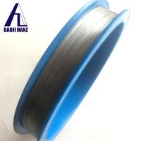 China High temperature nitinol ring with shape memory alloy wire good price on sale