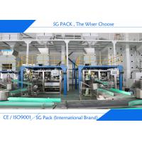 10 - 50 kg Heavy Bag Industrial Bagging Machine , Stainless Steel Auto Bagging Machine Manufactures