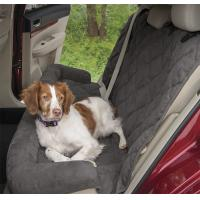 Large Waterproof Memory Foam Dog Bed For Car Seat Protector Grey Color With 2 Sizes Manufactures