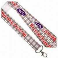 ECO Felt Sublimation Lanyards, 25mm Wide Manufactures