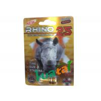 3D New Rhino 25 Sexual Stimulant Herbal Male Enhancement Pill For Increase Stamina Manufactures