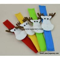 Merry Christmas! Custom Slap Bracelet, Wristband for Decoration Manufactures
