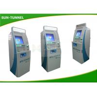 China Cold Rolled Steel Material Custom Kiosk Printer Ticket Dispenser Machine 60MHZ on sale