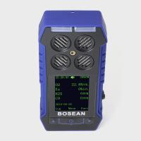 High Sensitivity 4 In 1 Toxic Gas Detector With Large Colored LCD Display Manufactures
