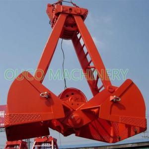 bulk cargo 8 CBM CCS 2 Rope Mechanical Grab Bucket Manufactures