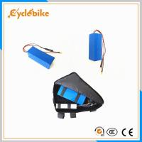 China Customized Electric Bike Lithium Battery , 15.4Ah 36 Volt Electric Bike Battery Pack on sale