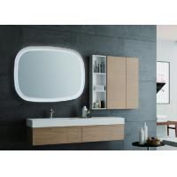 ABS Back Frame LED Sensor Bathroom Mirror With Infrared Hand Sweep Sensor Manufactures