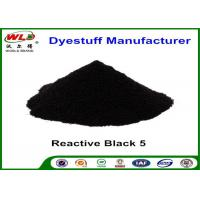 ISO Textile Reactive Dyes Reactive Black 5 Reactive Cotton Fabric Powder Tie Dye Manufactures
