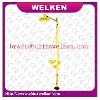 China China WELKEN,Tianjin Bradi, ANSI Standard and CE Vertified ,ABS Emergency Shower and Eye Washer on sale