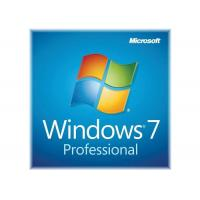 China Retail Box Microsoft Windows 7 License Key COA License Sticker Lifetime Warranty on sale