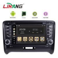 Steering Wheel Control Audi In Car Dvd Player , Audi TT Car Dvd Player Gps Navigation Manufactures