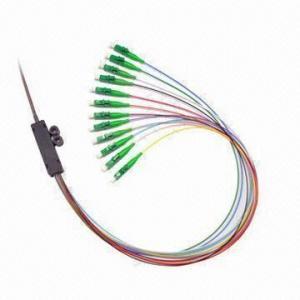 LC/APC Ribbon Fan Out Fiber Optical Connector Manufactures