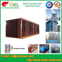 Buy cheap Electrical Water CFB Boiler Economizer Power Plant , Steam Boiler Economizer from wholesalers