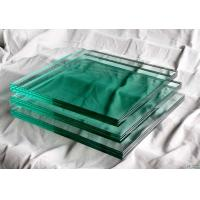 China 4mm - 19mm Laminated Safety Tempered Glass For Building Windows, Sound Insulation on sale