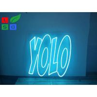 Illuminated LED Channel Letter Signs Shaped Soft Advertising Neon Light For Bar Sign Manufactures