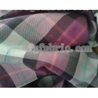 China Yarn dyed flannel fabric CWC-010 on sale