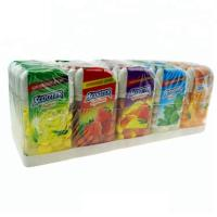 China Multi Color Compressed Dextrose Candy Assorted Strawberry Banana Flavor on sale