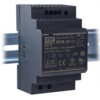 MEAN WELL 24vdc Power Supply Din Rail Mount Single Output Voltage Low Noise Manufactures
