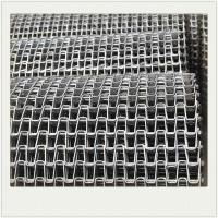 Horseshoe Stainless Steel Wire Mesh Conveyor Belt For Bottle Conveyor Manufactures