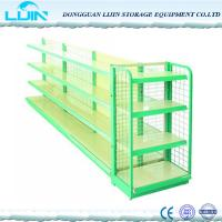 China 5 Levels Metal Supermarket Display Racks Powder Coated Surface Various Color on sale