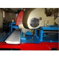 High Speed 0.27-0.4mm Aluminum PU Rolling Shutter Door Roll Forming Machine With Flying Saw Cutting Manufactures