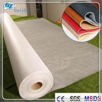Polyester Nylon Microfiber Nonwoven Synthetic Leather Fabric Raw Material Manufactures