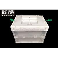China Polypropylene Plastic Ballot Box PP Material Voting Bin For Government Election on sale
