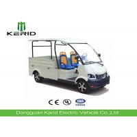 Buy cheap Free Maintenance Battery Powered Electric Cargo Van , Electric Utility Truck With 2 Seats from wholesalers