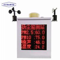 OC-9000 Air quality monitor system for inspection the SO2, NO2, CO, O3, PM2.5, PM10, etc. Manufactures
