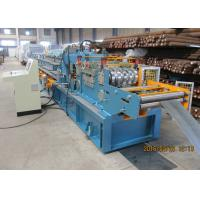 Per Cutting Roll Forming Machine For Purlin , 100-305 Change Sizes Automatically Manufactures