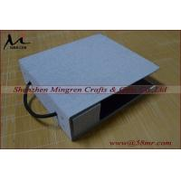 Fabric Linen Velvet DIY Self Mount Swatch Sample Book Cover Manufactures