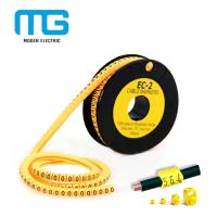China EC-1 Pvc Cable Marker Tube / Plastic Cable Labels / EC Type Cable Marker Cable Accessories on sale