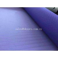 China Closed cell TPE Yoga Mat Custom Printed Eco - friendly Fitness Light Duty Mats on sale