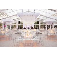 Transparent PVC Wedding Event Tents , Large Event Tents For Wedding Ceremony Manufactures