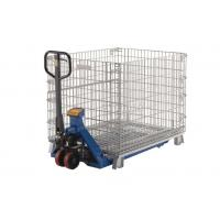 Durable Wire Mesh Container Collapsible Storage Wire Cage Stackable Stillage Manufactures