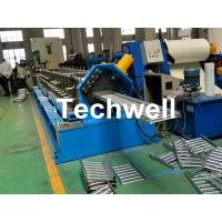 Galvanized Steel Cable Tray Roll Forming Machine With 18 Stations Forming Roller Stand Manufactures