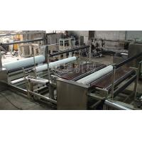 Spun - Bonded Fabric Wood Pulp Spunlace Cloth Automatic Slitting Machine 50 - 90 M / Min Manufactures