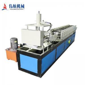 Full automatic steel  blue gate door roller shutter door roll forming machine Manufactures