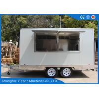 Yieson Made Mobile Kitchen Concession Trailer For Hamburger Sale Business Manufactures