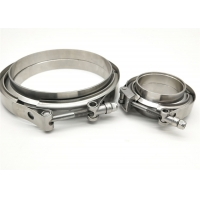 Quality Seated SS304 77mm 3 Inch V Band Clamp Kit for sale