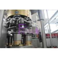 Automatic Canned Filling And Capping Machine Beverage Juice Filling Line Manufactures