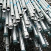 A53 gr.C Ends Threaded Galvanized Steel Pipe With Coupling Connector Manufactures